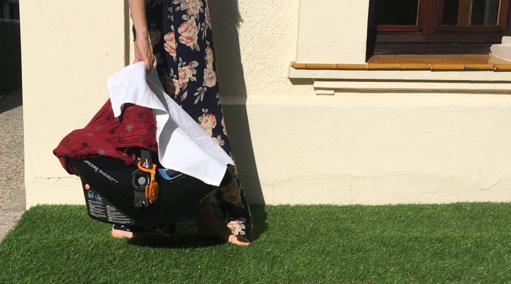 Protegir nadó del sol